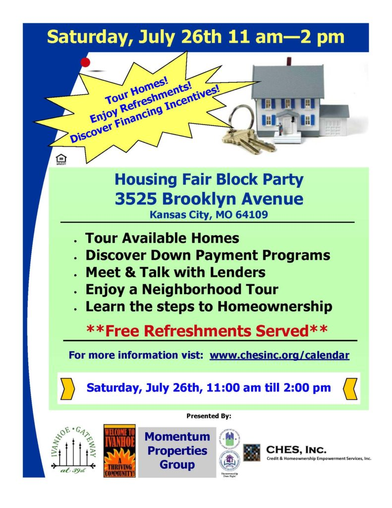 Ivanhoe Housing Fair/Block Party @ Ivanhoe Neighborhood | Kansas City | Missouri | United States