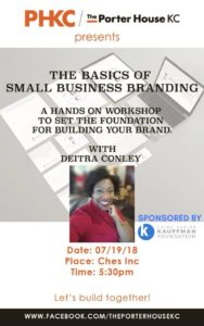 The Basics of Small Business Branding-Porter House KC Speaker Series @ CHES, Inc. | Kansas City | Missouri | United States
